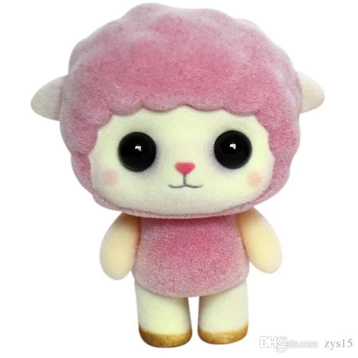 2019 Cute Imitation Pink Sheep Doll Plush Toy Girl Creative