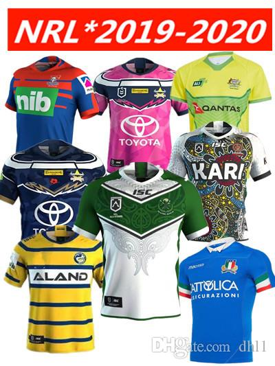 c4743626390 2019 2019 20 NRL RUGBY JERSEY PARRAMATTA EELS 2019 HOME JERSEY Brisbane  Titans Raiders Broncos Jersey NRL Rugby League Manly West Tigers Cowboys  From Dhl1