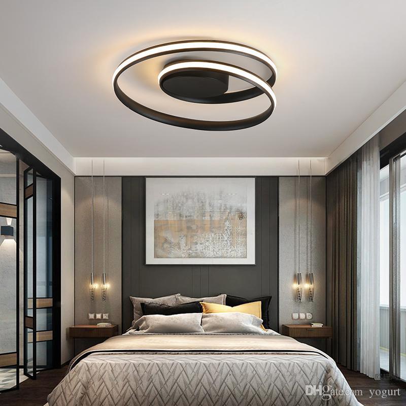 Lichter LED-Lampe für Wohnzimmer Schlafzimmer Arbeitszimmer Home Deco  AC85-265V Moderne weiße Deckenleuchte