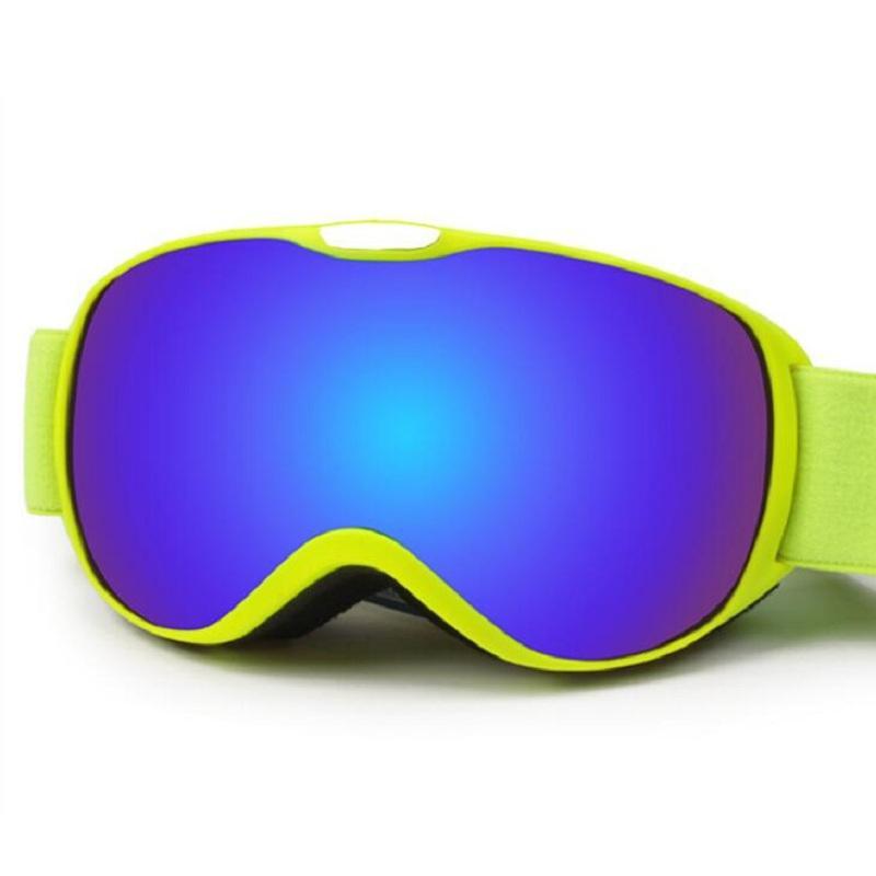 Compre Crianças Dupla Lente UV400 Snowboard Goggles Anti Fog Crianças Inverno  Óculos De Esqui Óculos Para A Proteção Da Neve Snowmobile Óculos De Sol De  ... 288250c5e1