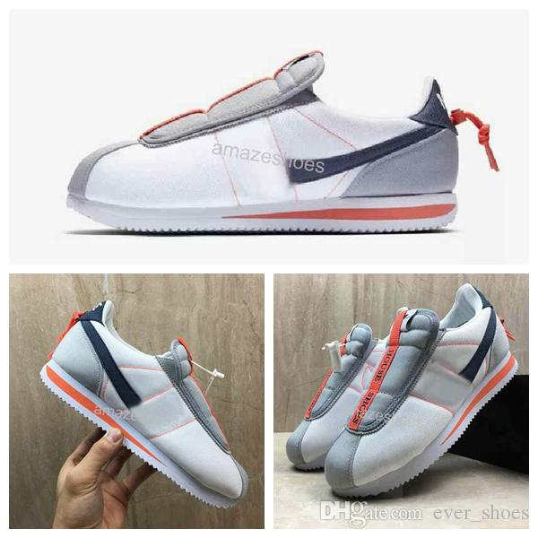 e421afbe 2019 New Kendrick Lamar X Cortez Basic Slip KENNY IV Designer Sneakers  AV2950 100 Women Men Running Shoes Barefoot Running Shoes Running Store  From ...