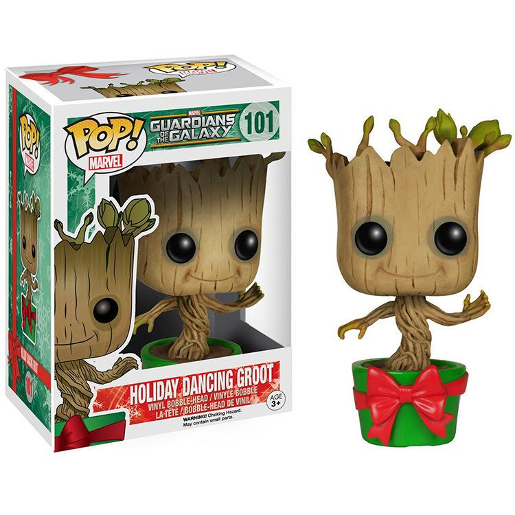 The Galaxy Guard 2 Treant Georgia Special Groot Christmas Edition Hand Do Model Figure Slugterra Figures Venom Toys Multicolor Favourite