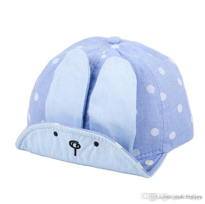 Compre Moda Para Bebés Niños Niñas Sombrero Suave Gorra De Béisbol Bebé  Verano Sombreros Recién Nacido Bebé Boina Lindo Conejo Gorras A  2.47 Del  Bofjoy ... aba4c396aac