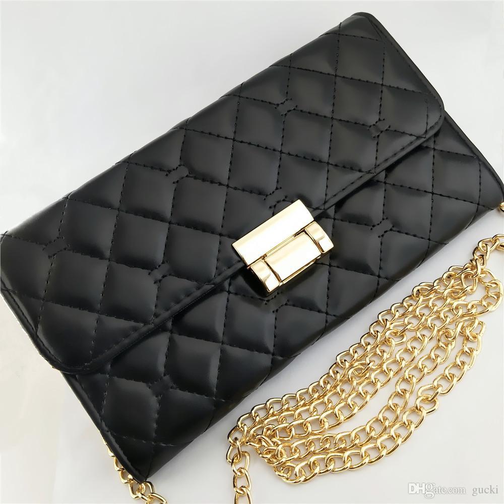 Women s PU Wallets Luxury Famous Brand Lady s Long Square Black ... d52c0097e6f2
