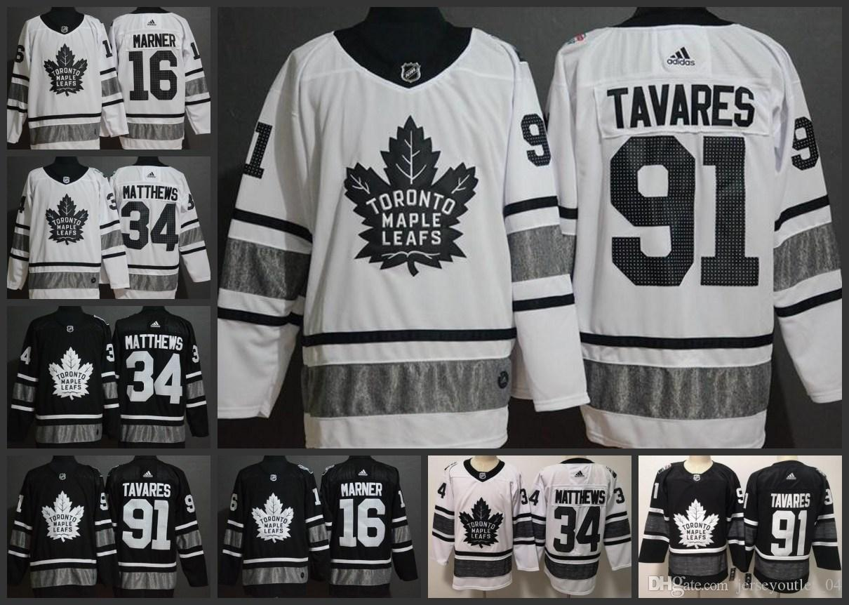 093d1c68d 2019 2019 All Star Toronto Maple Leafs Hockey Jerseys #34 Auston Matthews  16 Mitch Marner 91 John Tavares Stitched Jersey From Jerseyoutlet_06, ...