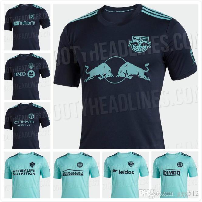 9676fd033 2019 MLS 2019 Parley SOCCER JERSEY LAFC Atlanta United 19 20 New ...