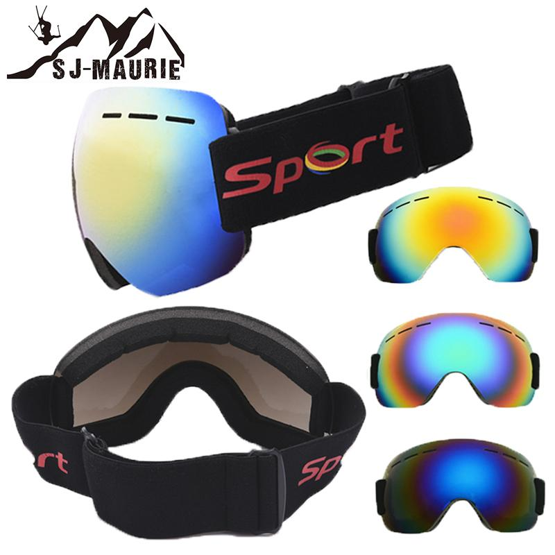 98f96f7359c 2019 Winter Skiing Goggles Snow Mask Outdoor Windproof Ski Eyewear Large  Frame Snowboard Goggles For Men Women Sports Glasses From Ahaheng