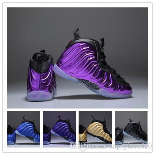 quality design 12ef6 b9e08 Acheter 2019 Chaussures De Basketball Penny Hardaway Enfants Fille Garçon  Garçon Noir FRUITY PEBBLES Baskets Enfants Athlétique Pippen Duncan Sport  De ...