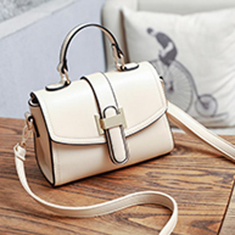 f3d2e3a7679a Women S Bag 2019 New Trendy Leather Buckle Women S One Shoulder Crossbody  Bag Purses And Handbags Fashion Handbags Large Handbags From Dhenana