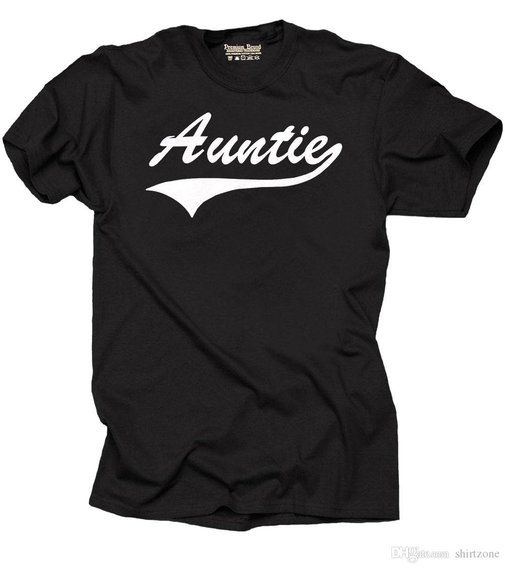 Aunt T Shirt Gift For Auntie Birthday Family Idea Men Male Top Design Custom Short Sleeve ValentineS XXXL Couple Dress