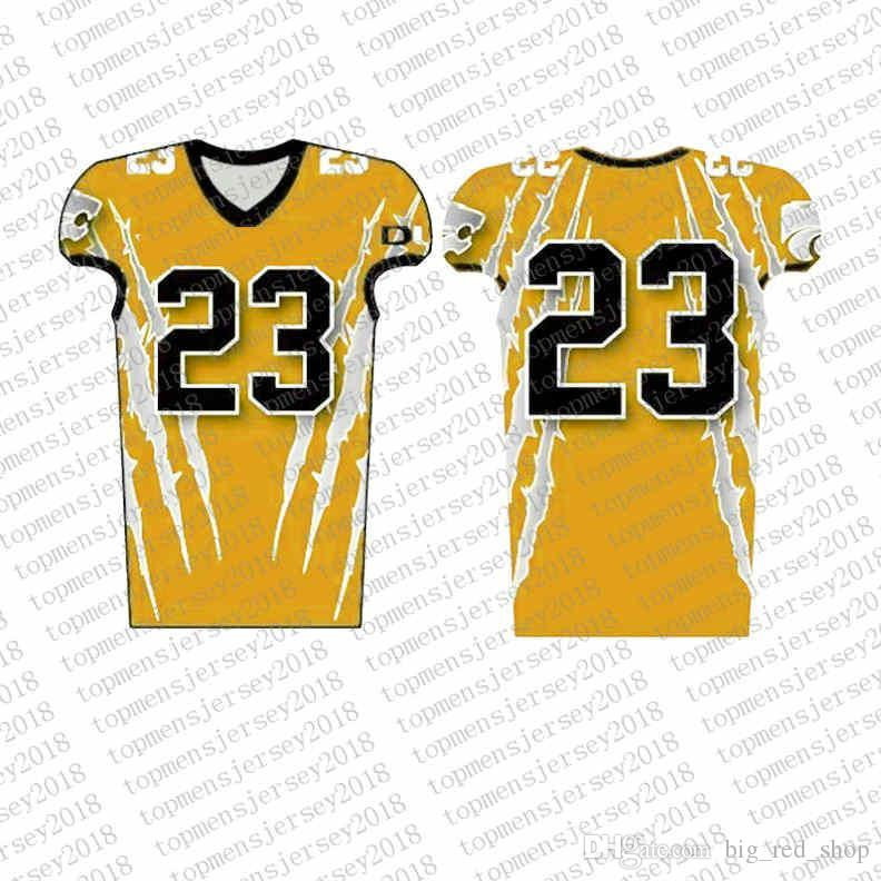 release date: ba98c 72c8e Top Custom Football Jerseys Mens Embroidery Logos Jersey Free Shipping  Cheap wholesale Any name any number Size S-XXXL00005