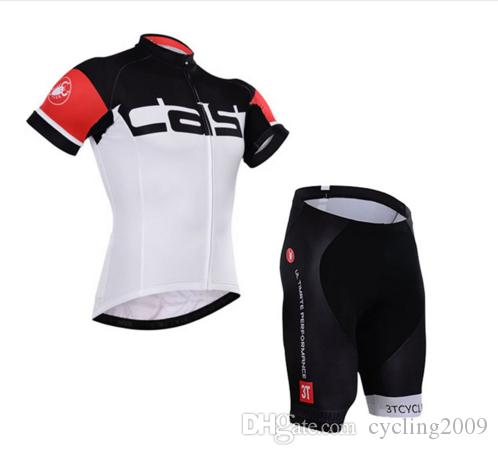 2018 Hot Castelli Short Sleeve Cycling Jersey Sets Bike Clothing ... 88f7d9e46