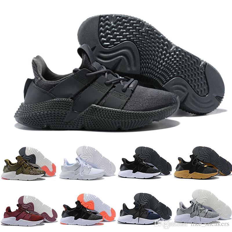 new style f4623 7c28b Adidas Prophere EQT Moda Prophere Climacool alta calidad Eqt 4 zapatillas  hombres mujeres negro Eqt apoyo Jogging zapatillas de deporte al aire libre