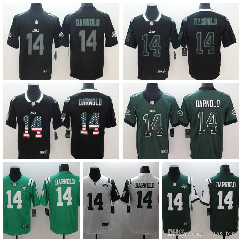 more photos 0511a 5cca6 2019 Mens 14 Sam Darnold Olive Camo New York Jersey Jets Football Jersey  100% Stitched Embroidery Sam Darnold Color Rush Football Shirt