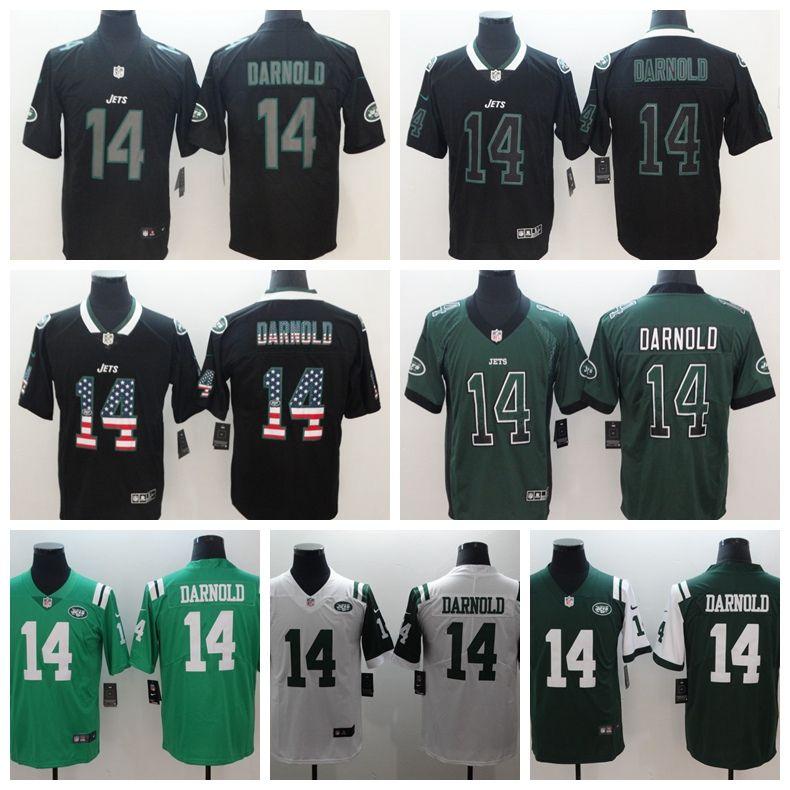 more photos e133c 5a3e4 2019 Mens 14 Sam Darnold Olive Camo New York Jersey Jets Football Jersey  100% Stitched Embroidery Sam Darnold Color Rush Football Shirt