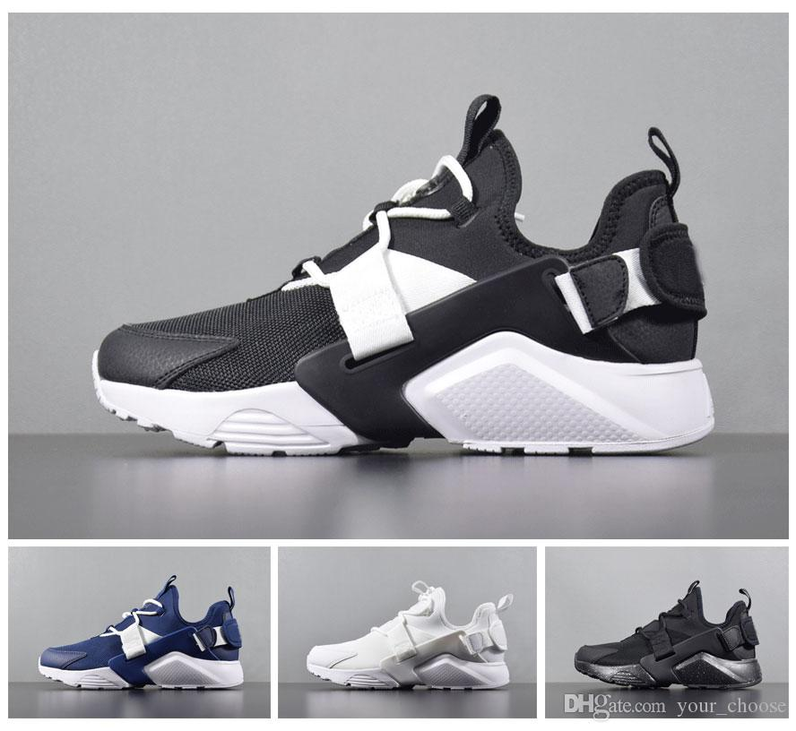 d90e9f5e95ed 2019 2018 New Air Huarache City Low 5 AH6804 101 Running Shoes Mens  Trainers Womens Sneakers Size 36 45 From Your choose