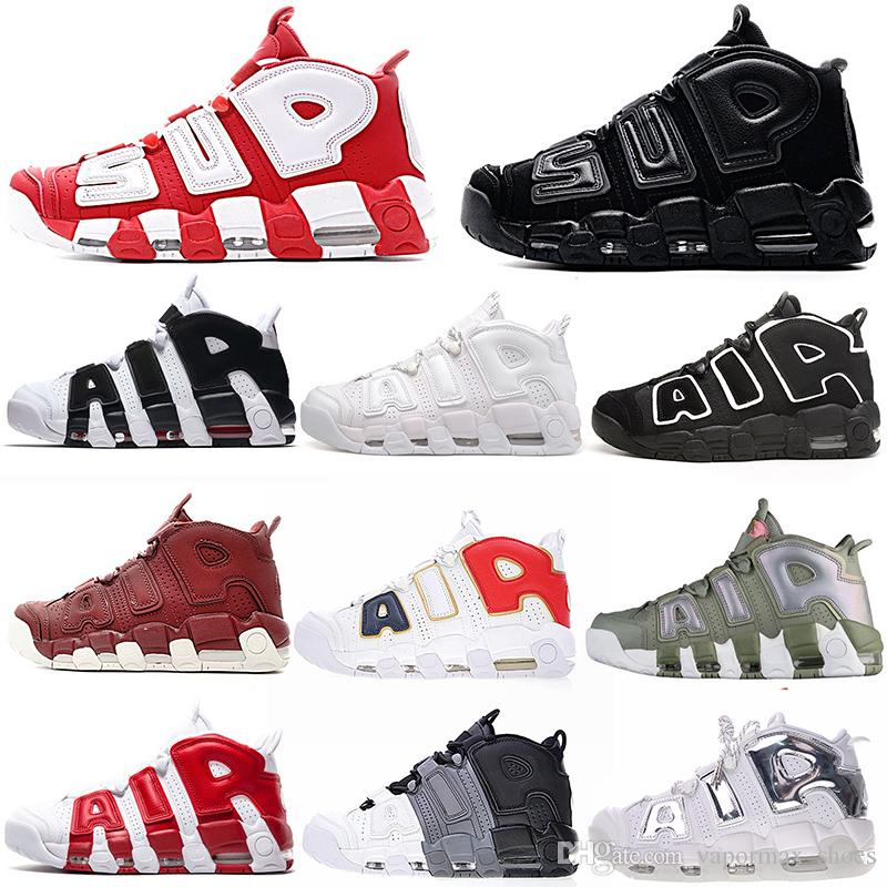 2019 Uptempo Shoes Scottie Pippen Basketball Running Designer Shoes For Men  Women Sports Sneakers Red Yellow Black Luxury Brand All Star Basketball  Mens ... 1fdb003ff9e25