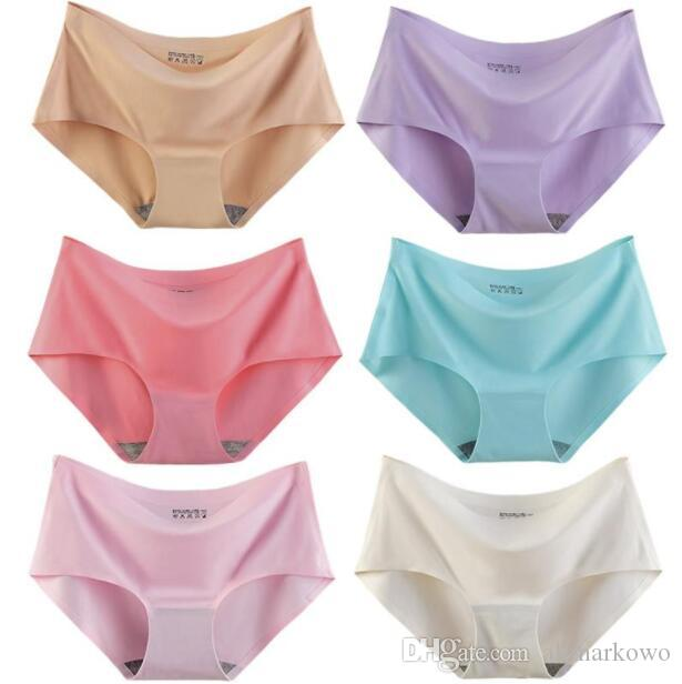 9d8e078574ef Cotton Women's Panties Candy PINK Underwear Sexy Cotton Underwear Women  Briefs Girls Knickers Underpants Panties