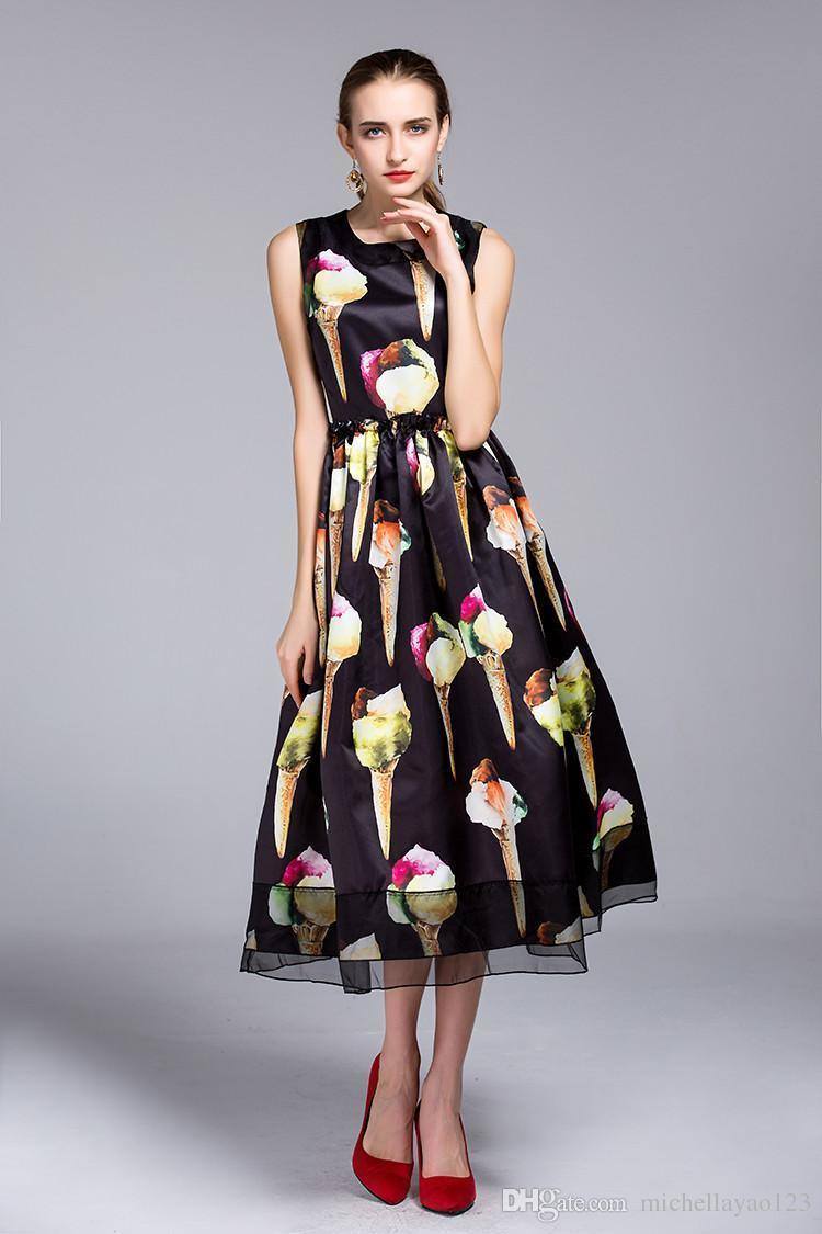 Vestidos largos hoss 2019