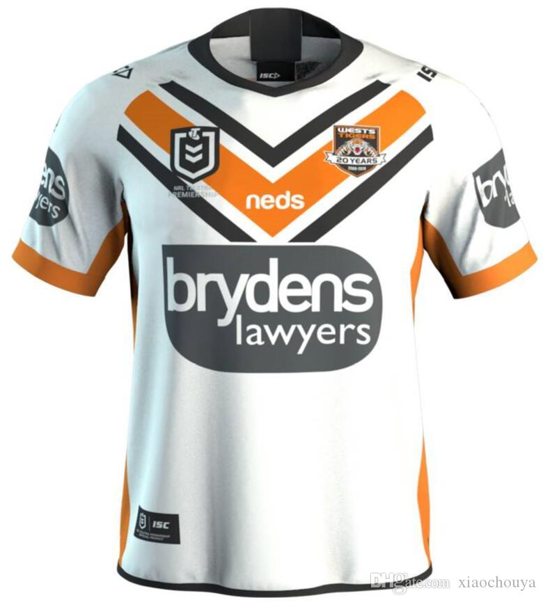 29caea4c496 2019 2019 NRL RUGBY JERSEY NORTH QUEENSLAND COWBOYS WESTS TIGERS 2019 AWAY  JERSEY NRL National Rugby League Rugby Size S 3XL From Xiaochouya, ...
