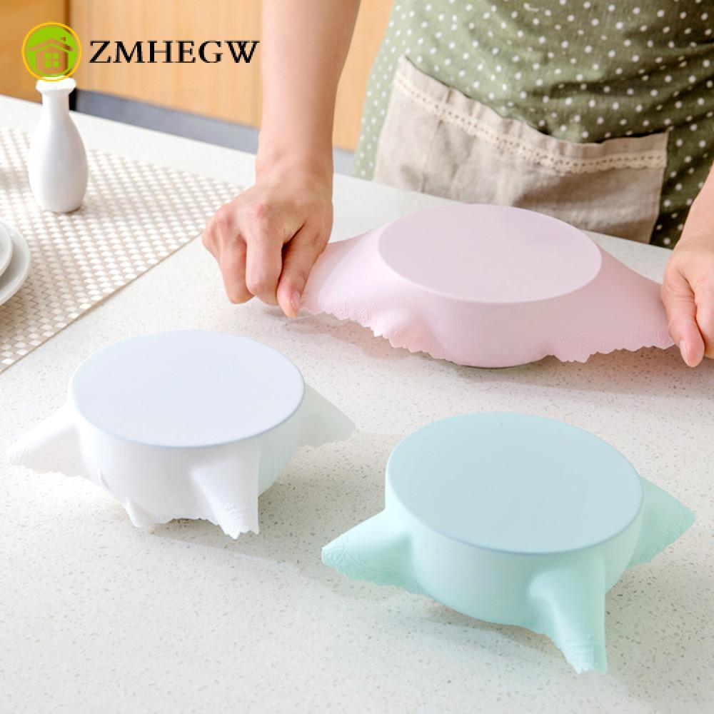 Bowl Lid Silicone Cover Plastic Wrap Cover Microwave Oven Refrigerator  Fresh Bowl Seal Kitchen utensils Cover Food Stretch Lids