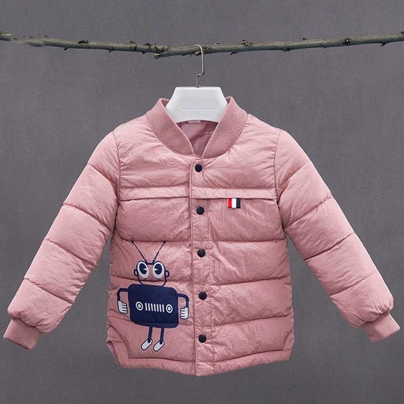 b3dc3c5b4207 Winter Warm Cartoon Boys Outerwear 2019 Fashion Cotton Coats Jackets ...