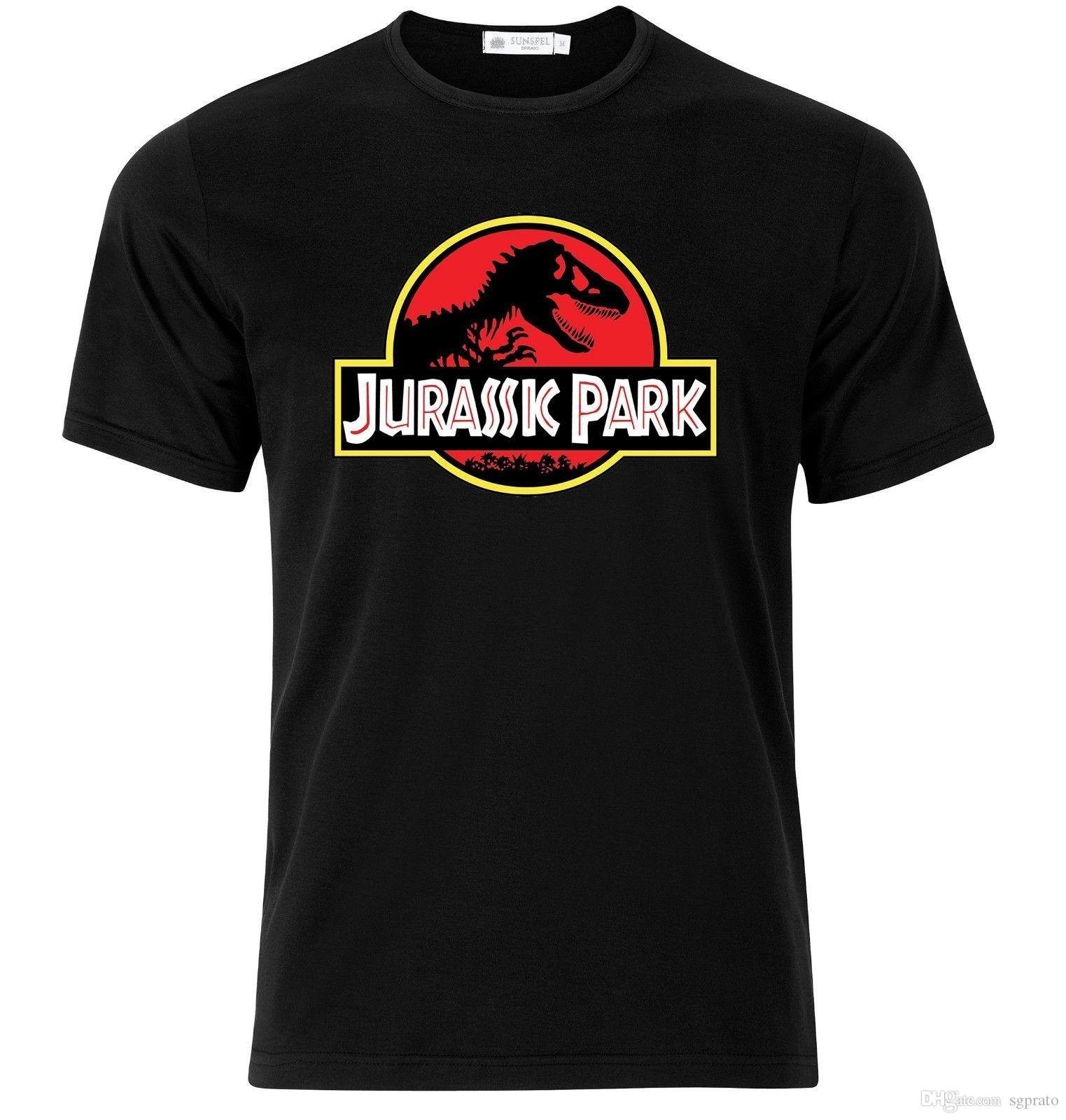 99bd64484 Compre JURASSIC PARK Camiseta Negra Disponible M L XL A  10.52 Del Sgprato