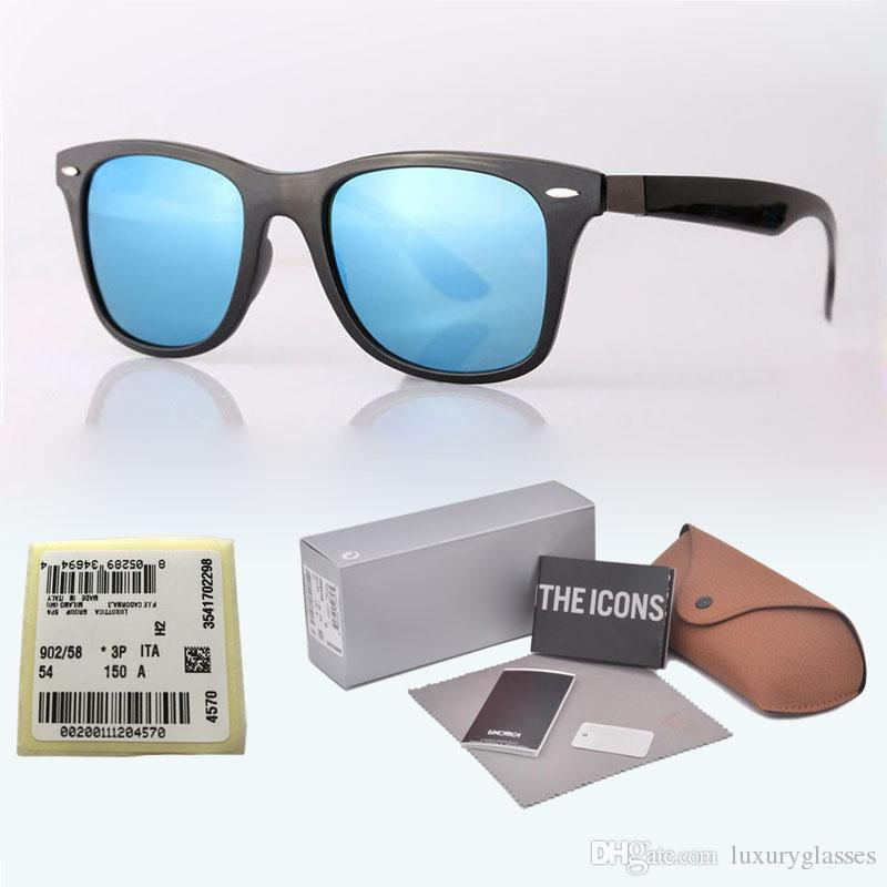 80e901d666 Wholesale Brand Design Sunglasses Men Women High Quality Plank Frame Glass  Lens Sport Driving Glasses With Free Original Case And Label Glasses Online  ...