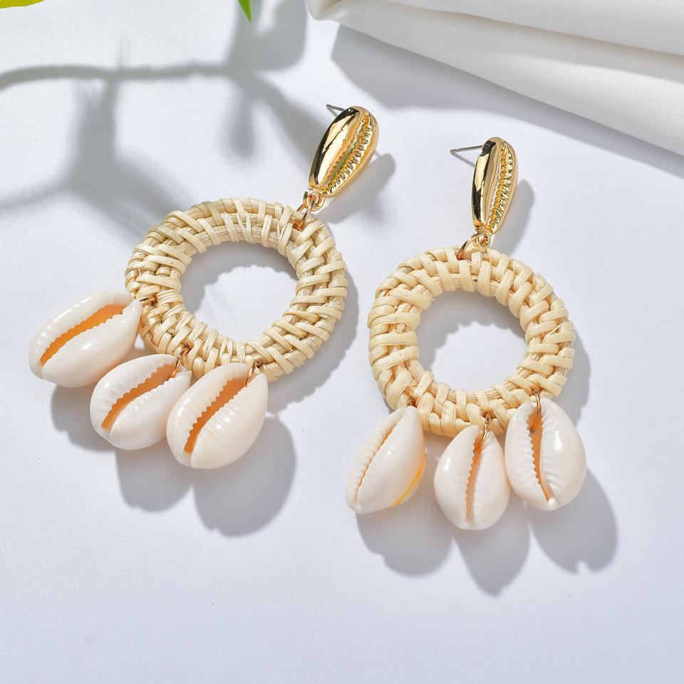 Unique Style Shell Earrings For Women Beads For Jewelry Making