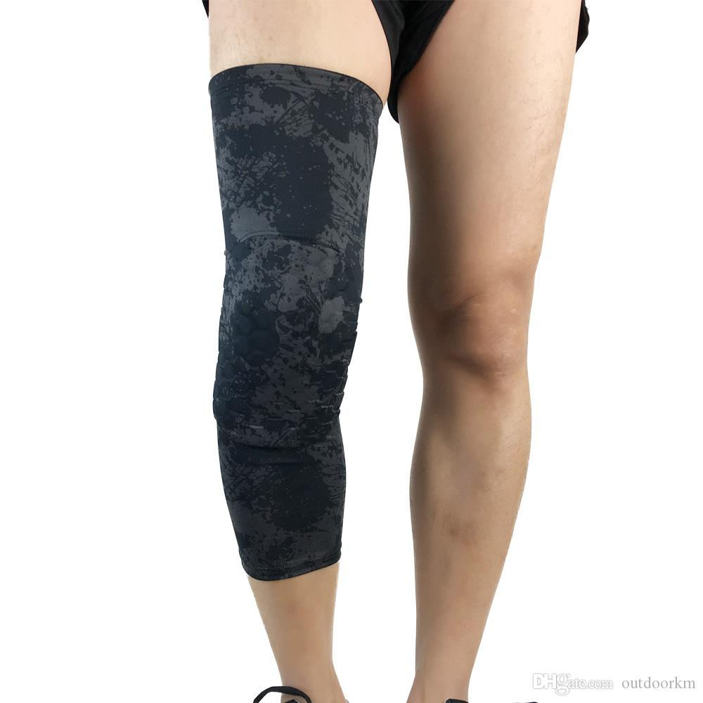 603759abf9 Top Quality Safety Guard Breathable Support Protection Knee Brace Leg  Sleeve Elastic Knee Support Brace Pads