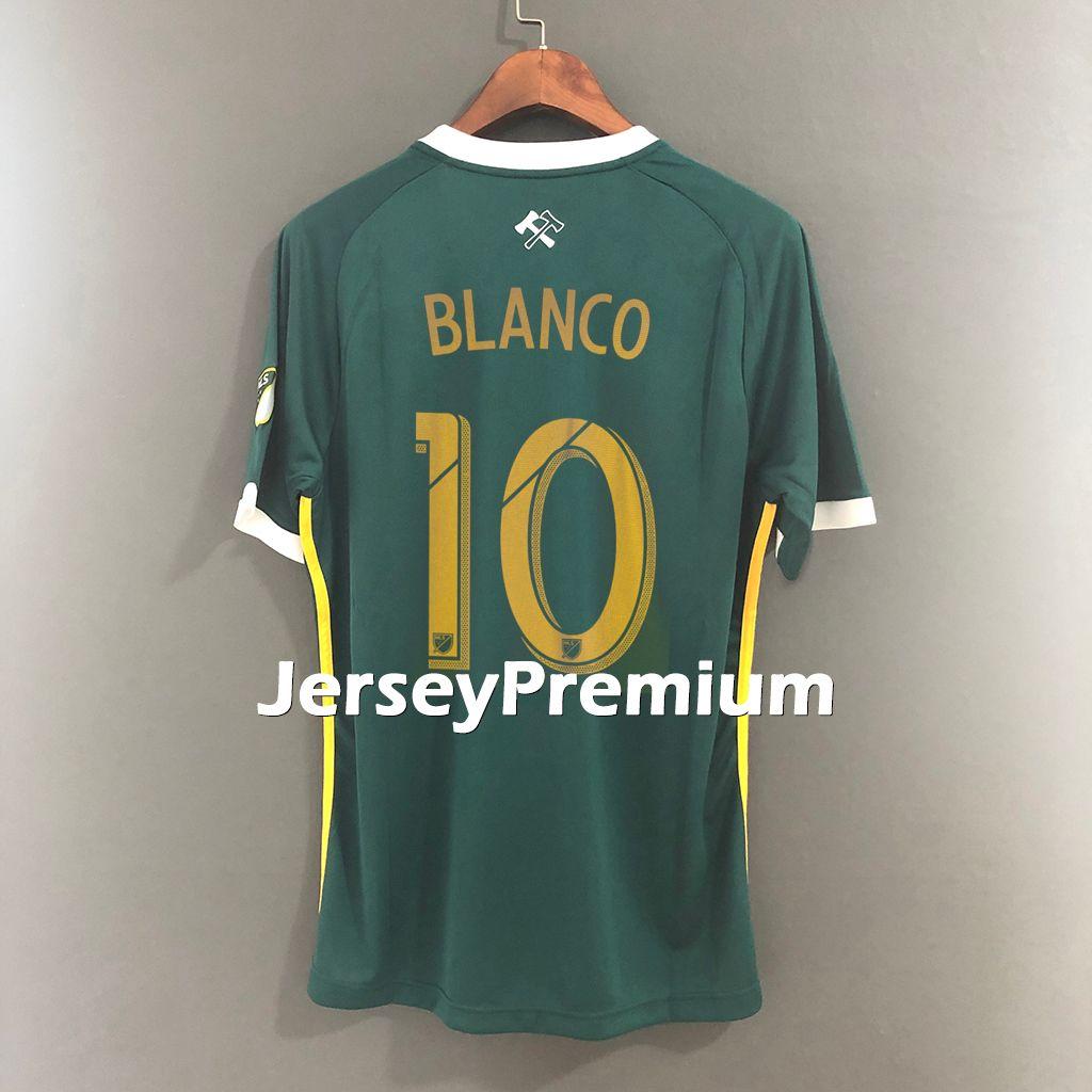 innovative design 0e25f 49a81 2019 Portland Timbers Home Green Football Soccer Jerseys Shirt Valeri  Blanco Valentin Chara