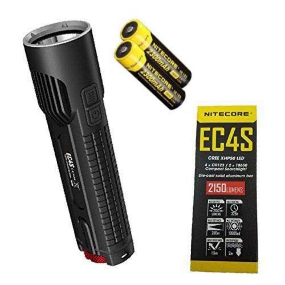 De Xhp50 Ec4s Batteries Led Poche 2150lm Avec 2300mah Nitecore Lampe 218650 Cree wPXnO0k8