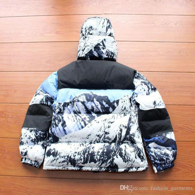 8a103c4e9 Brand New Mountain Baltoro Down Jacket 17FW Mens Designer Jackets Womens  Windbreaker Luxury Jacket Warmth Winter Jacket Outerwear