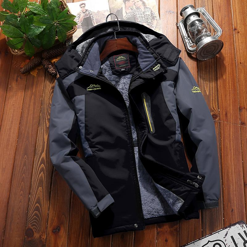 9XL Outdoor Hiking Jackets Men Winter Large Size Mountain Travel Clothes  Waterproof Trekking Fishing Hunting Skiing Male Jackets Hiking Jackets  Cheap Hiking ... bc8ebd1f7