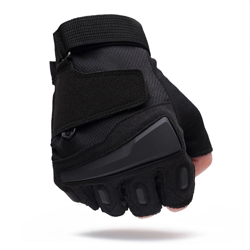 Half Finger Army Gear SWAT Gym Fitness Gloves Outdoor Sport Adjustable Combat Tactical Gloves
