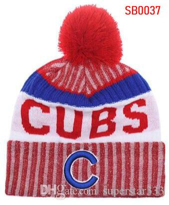 2f803ef81c61b2 2019 Winter Cubs Beanie Beanies Skull Hat Men Women Knitted Beanie Wool Hat  Man Sport Knit Hat Bonnet Warm Baseball Skull Cap 00 Skull Cap Beanie Boo  From ...