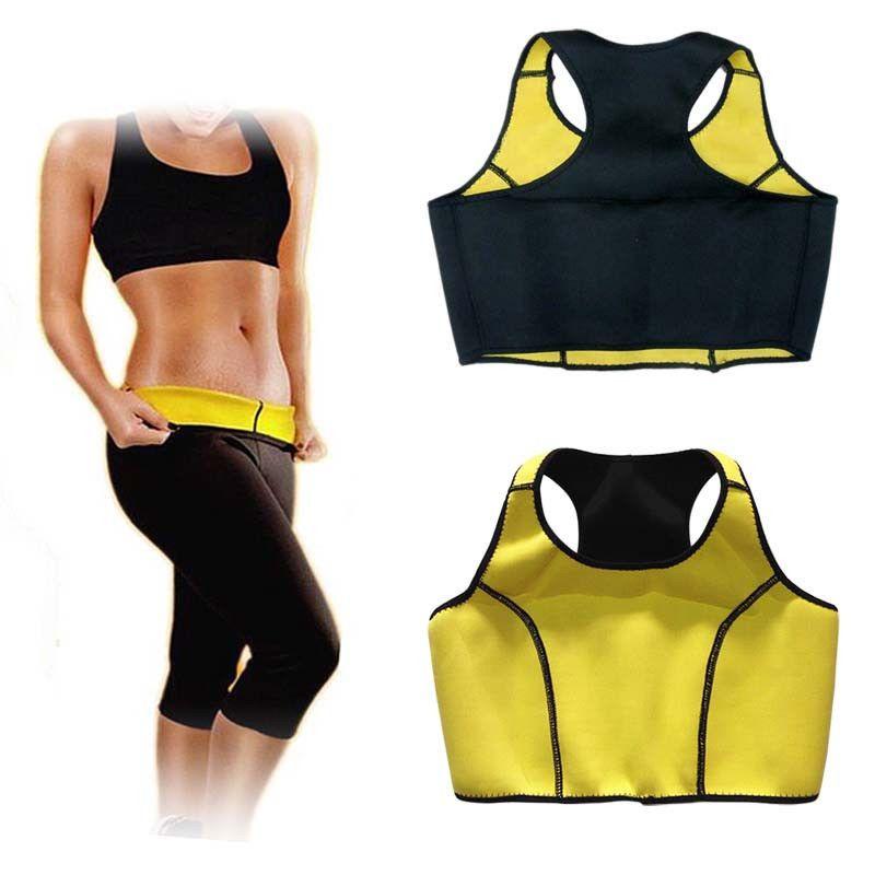 b1676f899a3e4 2019 Hot Body Shaper Women Slimming Vest Neoprene Waist Trainer Yoga  Fitness Women Yoga Top Sexy Vest Bra Workout Running Top Bra From  Echootime