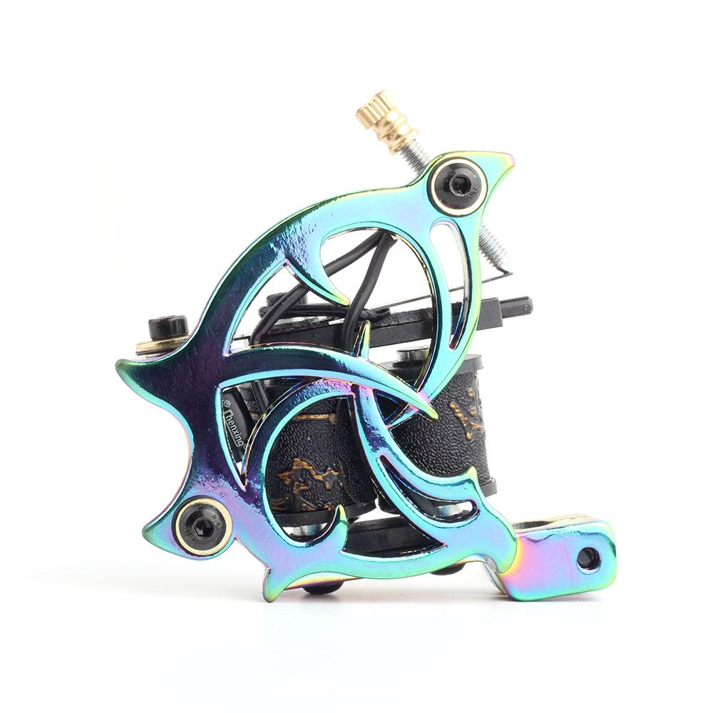 Colorful Zinc alloy tattoo machine High Quality coil Tattoo Machine for liner Shader Body Art Gun Makeup Tool