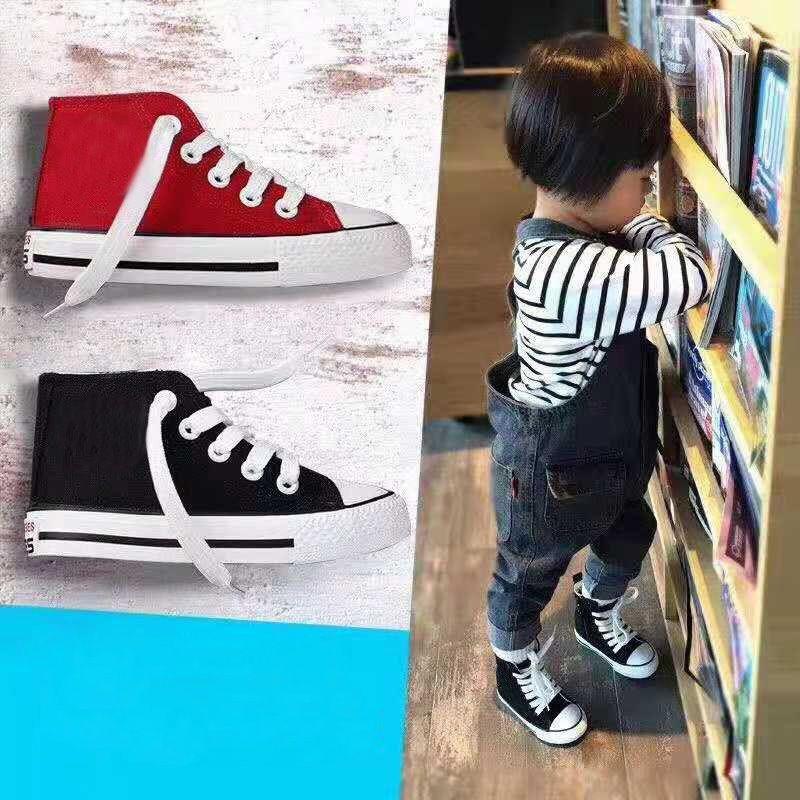 the best attitude e2dab dfb39 Acheter 2019 Enfants All Star Dunk Faible Skateboard Designer Chaussures  Garçons Et Filles Haute Aide Classique Toile Casual Chaussures Sneakers  Taille 22 ...