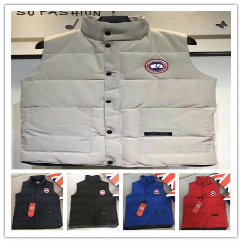 mens vest down jackets designer jackets brand Black Grey Blue Red womens Coat Canadian Down Jackets Outdoor Parkas Sport Cold Winter Holiday