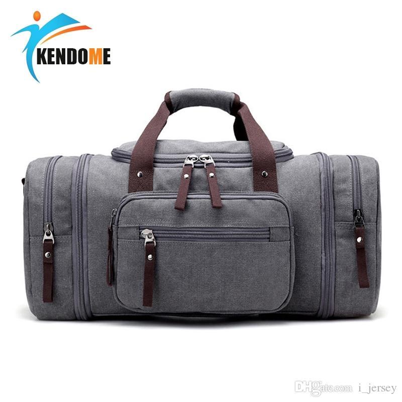 fe8a26d21915 2019 Top Quality Men S Classic Canvas Fitness Gym Sports Shoulder Leisure Travel  Bag Yoga Handbag Training Portable Duffle Bag  86728 From I jersey