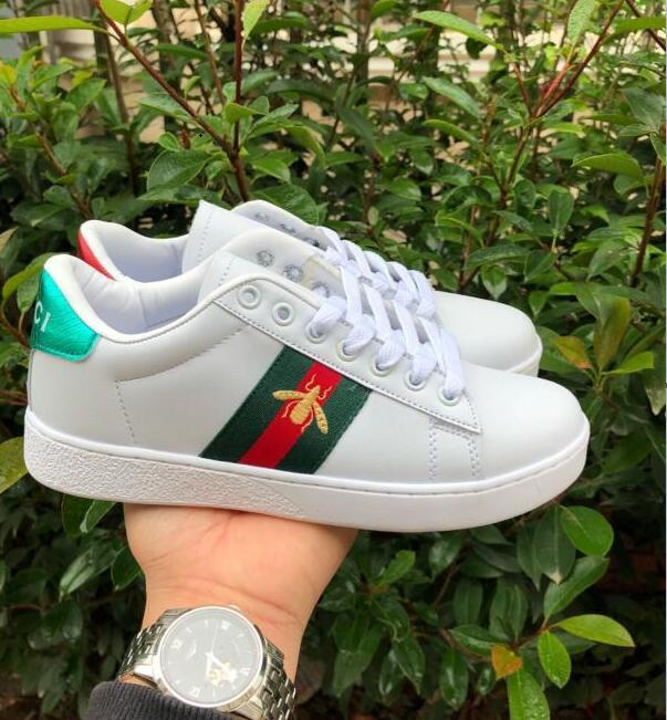 bc2d823f8b0181 2019 GUCCI New Forcing 1 Men Women Shoes Sneakers Sports Trainers Casual  Outdoor Shoes With Box Size A2011 Shoes For Sale Cheap Shoes Online From ...