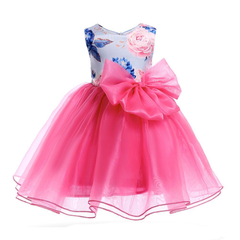 2642f9e543623 Acheter Bonne Qualité Nouvelle Fille Robe Fête Anniversaire Mariage  Princesse Bébé Filles Vêtements De Noël Enfants Vêtements Enfants Robe  D été De  35.75 ...