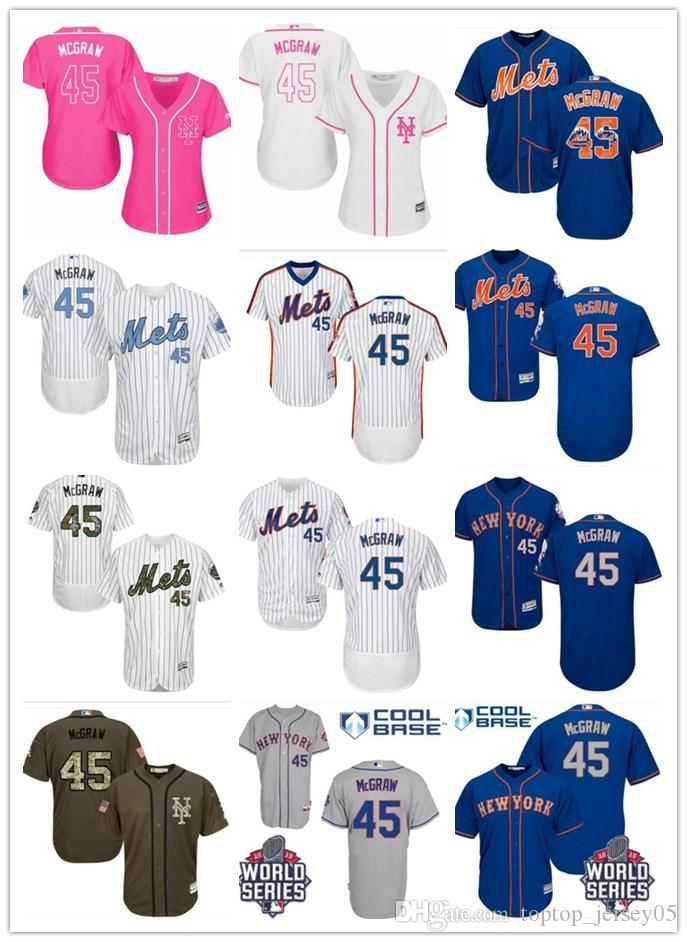 d54b36d7f 2019 2018 Top New York Mets Jerseys  45 David Wright Jerseys Men WOMEN YOUTH Men S  Baseball Jersey Majestic Stitched Professional Sportswear From ...