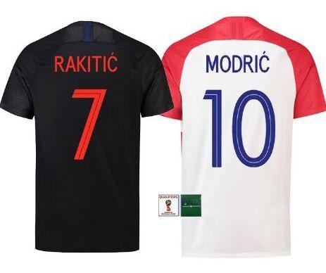 06c2a8be961 Best Thai Quality 2018 XXL World Cup VIDA REBIC RAKITIC Hrvatska LOVREN Croatia  Soccer Jersey Luka Modric Croazia Football Shirts Croatia Croatia Jersey ...
