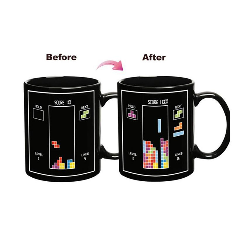 Magic Mug Handgrip Discoloration Sensitive Heat New Tetris PkuOZiXTw
