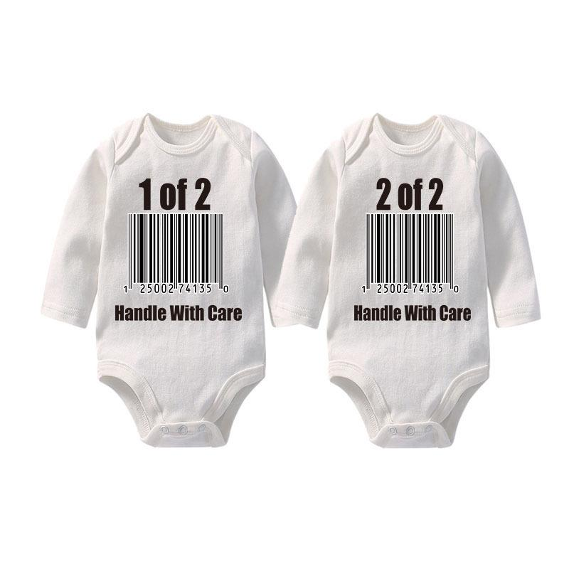 f63bf62da40a5 Culbutomind Clothes For Boy/girl Twins Clothing Set Long Sleeve Spring  Summer Autumn Newborn Baby Bodysuit Q190518