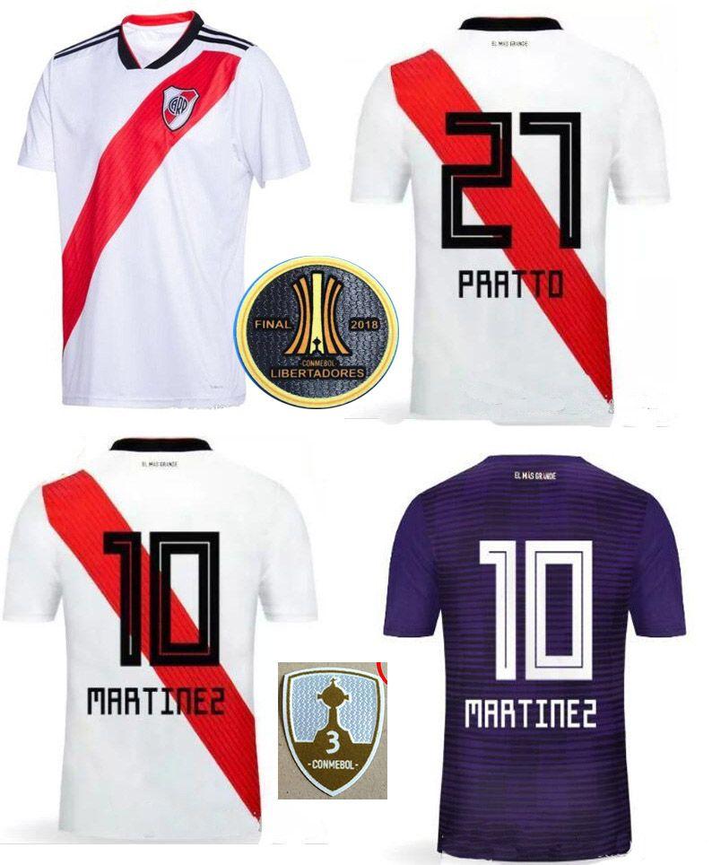 c010ed68196 2019 18 19 River Plate Soccer Jersey 2018/19 R.MORA CRESPO Martinez Alario  Football Shirts Adult Top Thai Quality CARP Home Away Sports Uniforms From  ...