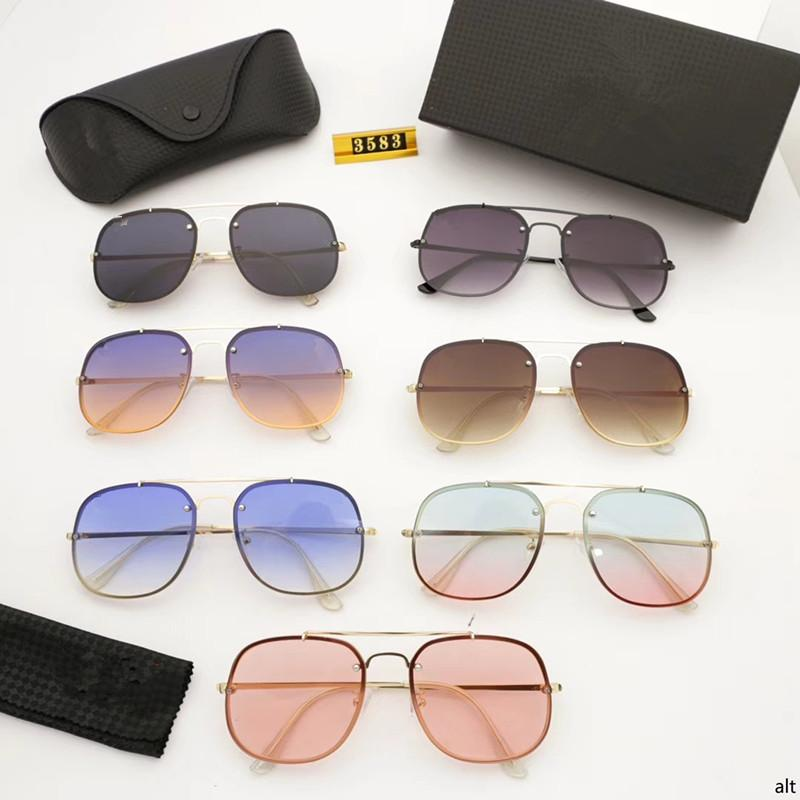 5e8013968 Compre Verão 2018 Novos Óculos De Sol Hot Sun Estilo Geral Cor ...