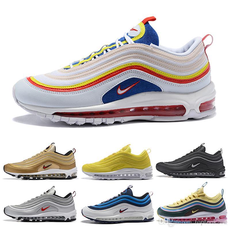 nike air max 97 airmax Barato Nuevo Hombres Plus Tn Zapatos de diseño Chaussures Homme Plus Mujeres Zapatillas de deporte Zapatiallas Hombre Tns Airs